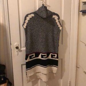 Loft long sweater sleeveless